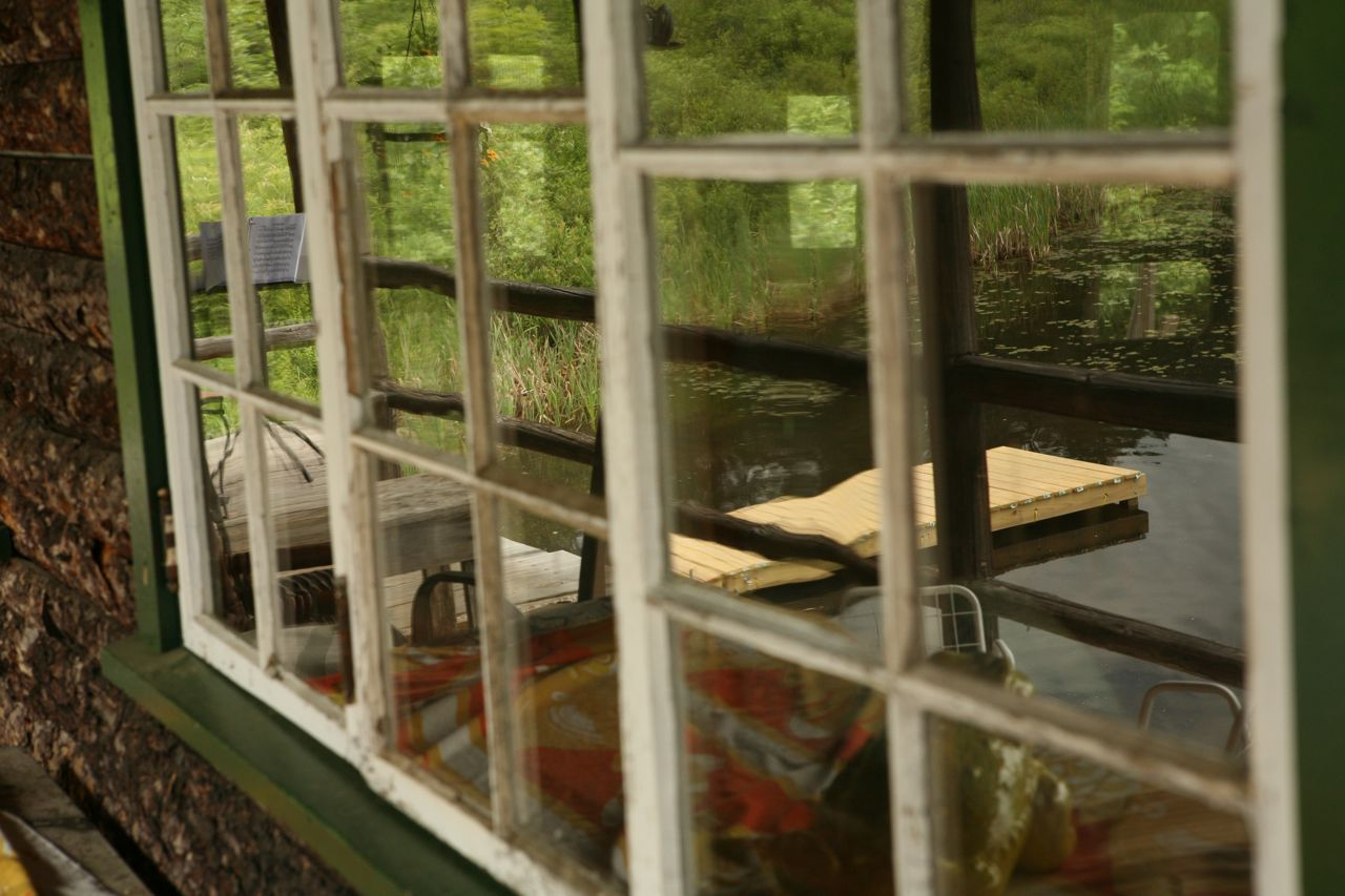 2011 - Reflection in the boathouse window
