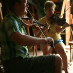 2012 - Fiddle instructor in class