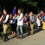 2012 - Marching to the smorgasbord feast