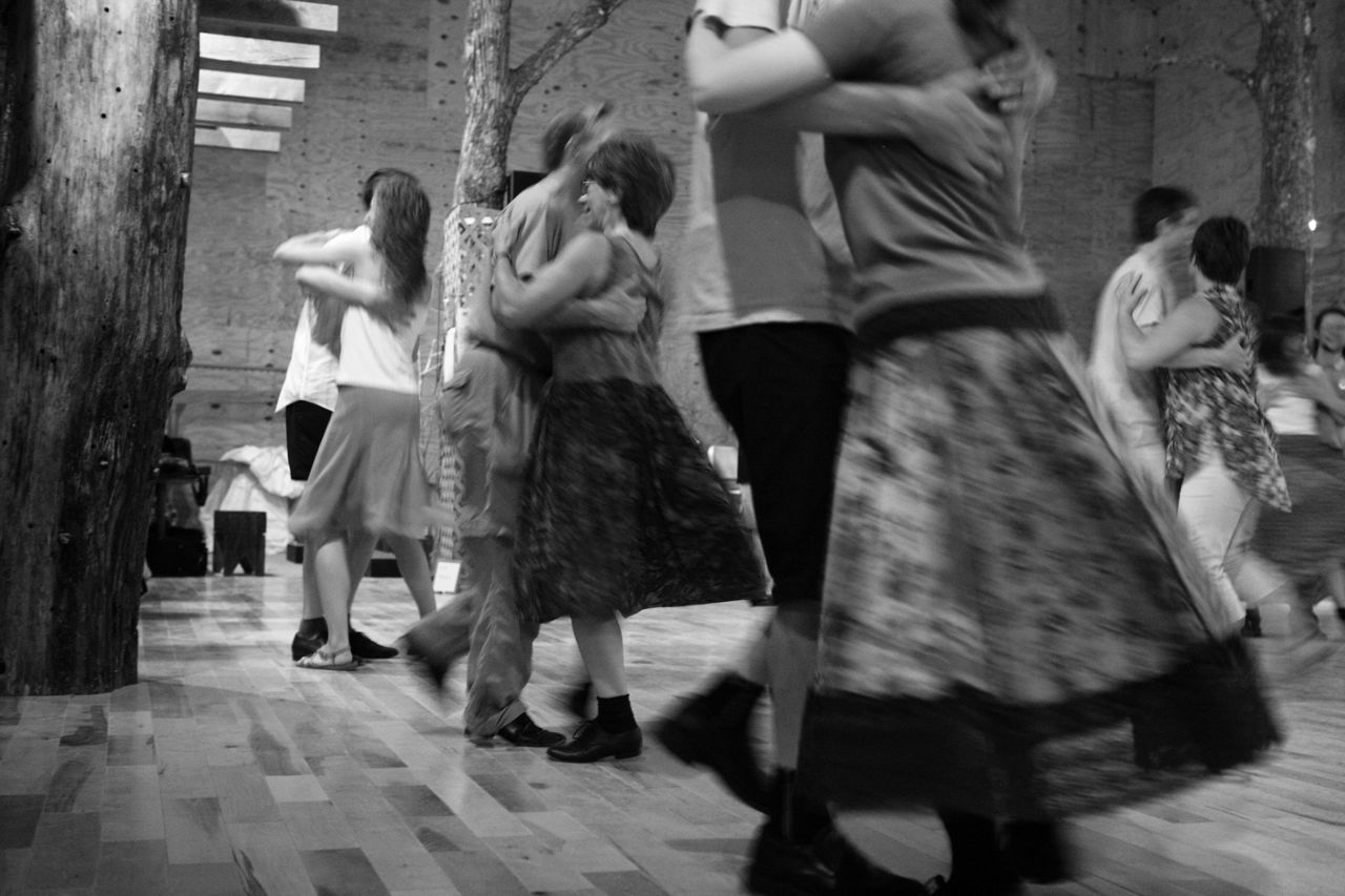 2013 - Evening dance party in Ogontz Hall