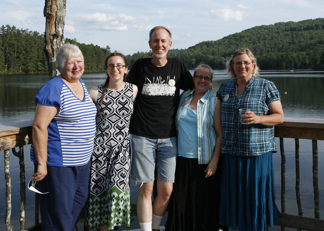 2013 - The Kansas contingent - Suzy, Ruthie, Byron, Lauralyn & Theresa