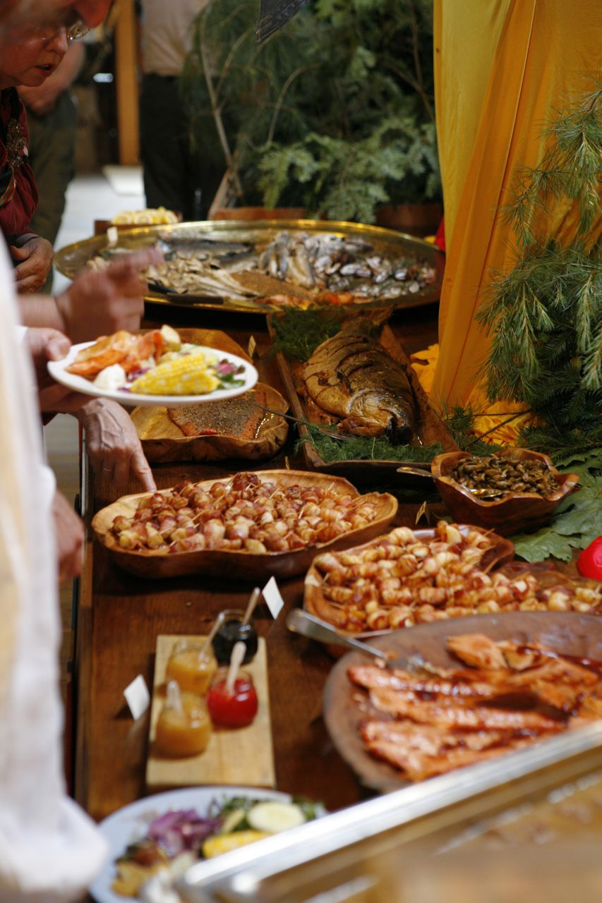 2013 - Offerings at the delicious and amazing Smörgåsbord